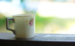 葡萄酒泰国样式老陶瓷 免版税库存照片
