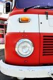 葡萄酒消防队员卡车 库存照片
