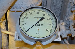 葡萄酒深度测量仪 库存图片