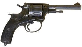 葡萄酒火器左轮手枪 免版税图库摄影