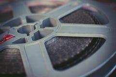 葡萄酒灰色超级8部电影卷轴 图库摄影