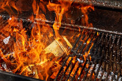 葡萄酒灼烧的纸张 免版税库存照片