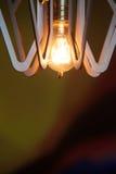 葡萄酒照明设备装饰 库存图片