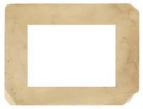 葡萄酒照片框架老脏的纹理背景 库存照片
