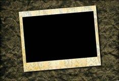 葡萄酒照片框架背景 免版税库存图片