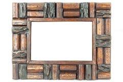 葡萄酒照片框架 免版税库存图片