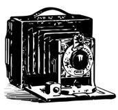 葡萄酒照相机例证 免版税图库摄影