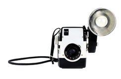 葡萄酒照相机 免版税图库摄影
