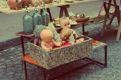 葡萄酒玩具 图库摄影