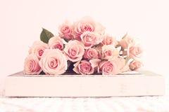 葡萄酒玫瑰 免版税库存图片