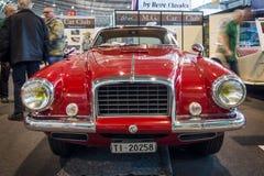 葡萄酒由车身制造厂Carrozzeria Vignale的汽车MG TD, 1952年 图库摄影