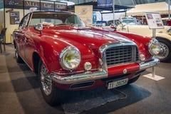 葡萄酒由车身制造厂Carrozzeria Vignale的汽车MG TD, 1952年 免版税库存图片