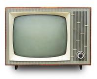 葡萄酒电视机 库存图片