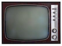 葡萄酒电视 库存照片