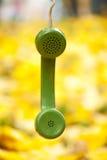 葡萄酒电话接收器 免版税库存照片