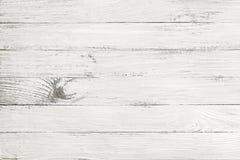 葡萄酒白色木纹理 免版税库存照片
