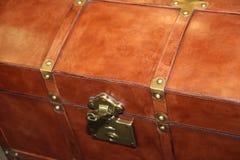 葡萄酒皮革手提箱 大和美妙的皮革箱子 旅行箱子 葡萄酒皮革手提箱 库存图片