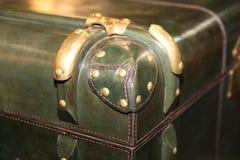葡萄酒皮革手提箱 大和美妙的皮革箱子 旅行箱子 葡萄酒皮革手提箱 免版税图库摄影