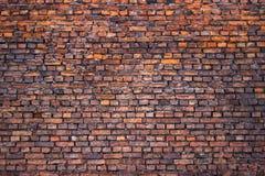 葡萄酒砖墙,都市背景,红色石纹理 免版税库存照片