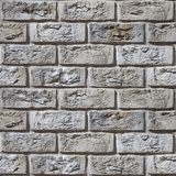 葡萄酒砖墙-土气出现-无缝的背景 免版税图库摄影
