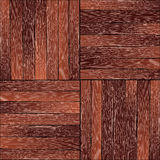 葡萄酒硬木地板样式 免版税库存照片