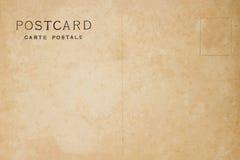 葡萄酒空白明信片 免版税库存照片