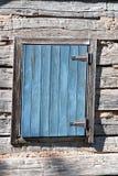 葡萄酒窗口门 免版税库存图片