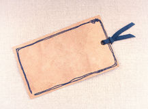 葡萄酒纸张标签 免版税库存图片