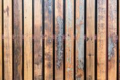 葡萄酒纹理的老木墙壁板条 免版税库存图片