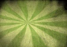 葡萄酒绿色帆布starburst 免版税库存照片
