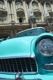 葡萄酒美国汽车哈瓦那古巴 库存照片