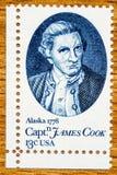 葡萄酒美国邮票 图库摄影