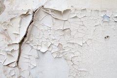 葡萄酒老砖石工背景纹理在古老水泥的与与老油漆踪影的镇压  免版税图库摄影