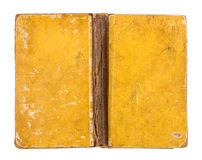 葡萄酒脏的黄皮书盖子 免版税库存照片