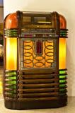 葡萄酒自动电唱机 免版税库存照片