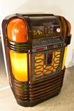 葡萄酒自动电唱机 免版税图库摄影