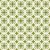 葡萄酒自然绿色叶子形状样式的无缝的背景图象 图库摄影