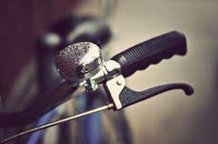 葡萄酒自行车把手 免版税库存照片