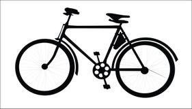 葡萄酒自行车, 向量例证