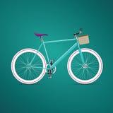 葡萄酒自行车 免版税库存图片