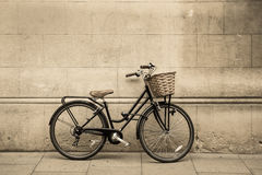 葡萄酒自行车 库存图片