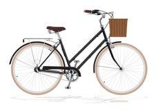 葡萄酒自行车 免版税图库摄影