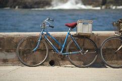 葡萄酒自行车 免版税库存照片