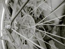 葡萄酒自行车01 免版税库存图片