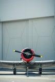葡萄酒航空器休息 库存图片