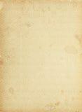 葡萄酒花卉模式纸张 免版税库存照片