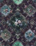 葡萄酒花卉设计 库存照片