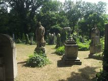 葡萄酒英雄战士纪念坟茔#01在布达佩斯公墓,匈牙利 库存图片