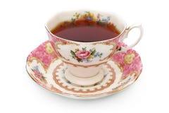 葡萄酒茶杯 图库摄影
