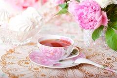 葡萄酒茶 免版税库存图片